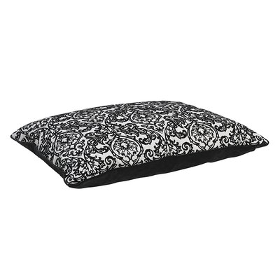 Designer Rectangle Dog Bed Size: Large - 36 L x 26 W
