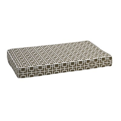 Isotonic Foam Mattress Size: Large - 36 L x 24 W, Color: Taupe