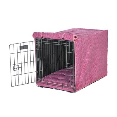 Luxury Crate Cover Size: Medium (21 H x 19 W x 30 L)