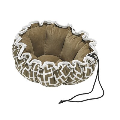 Buttercup Dog Bed Size: Small - 24 L x 24 W, Color: Taupe