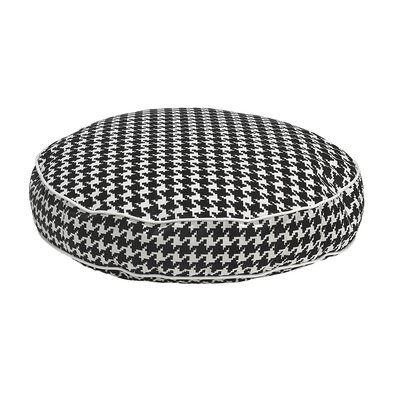 Round Dog Bed Color: Canterbury, Size: X-Large - 52 L x 52 W