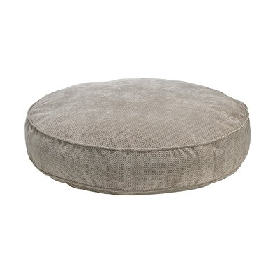 Round Dog Bed Color: Cappuccino, Size: Large - 44 L x 44 W