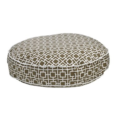 Round Dog Bed Size: X-Large - 52 L x 52 W, Color: Taupe