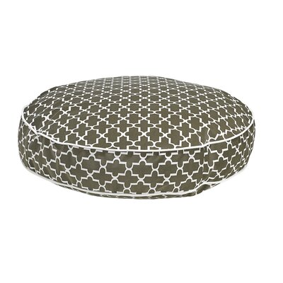 Round Dog Bed Size: X-Large - 52 L x 52 W, Color: Graphite