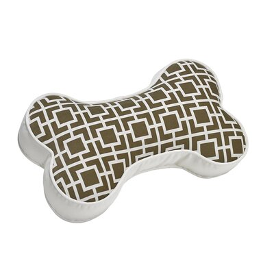 Bone Sofa Velet Throw Pillow Color: Taupe