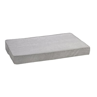Isotonic Foam Mattress Size: Large - 36 L x 24 W, Color: Silver