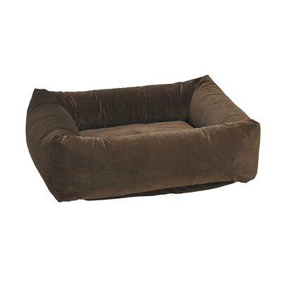 Dutchie Dog Bed Size: Medium - 28 L x 25 W, Color: Walnut