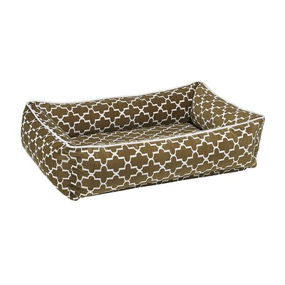 Urban Lounger Dog Bed Size: Small - 26 L x 18 W, Color: Cedar