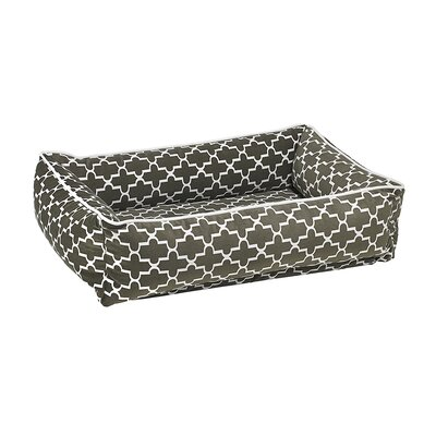 Urban Lounger Dog Bed Color: Graphite, Size: Medium - 34 L x 23 W