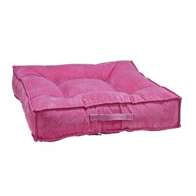 Piazza Dog Bed Color: Flamingo