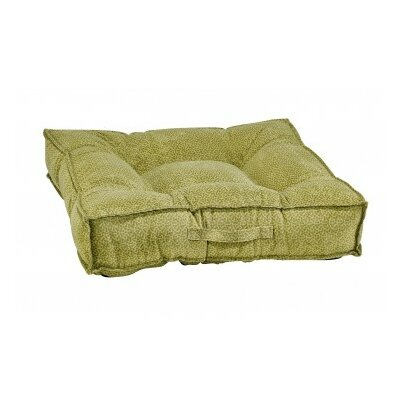Piazza Dog Bed Color: Green Apple