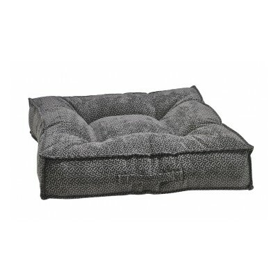 Piazza Dog Bed Color: Pewter