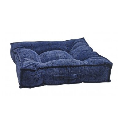 Piazza Dog Bed Color: Navy