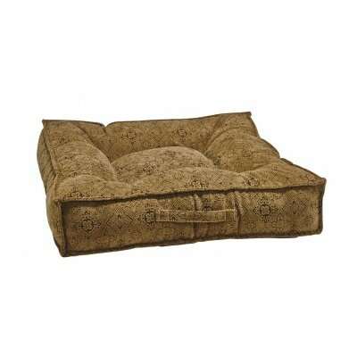 Piazza Dog Bed Color: Pecan