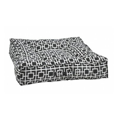 Piazza Dog Bed Color: Gray