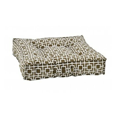 Piazza Dog Bed Color: Taupe
