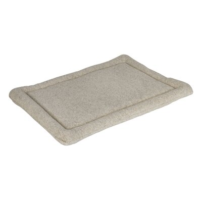 Berber Dog Mat Size: Small (24 L x 19 W), Color: Oatmeal