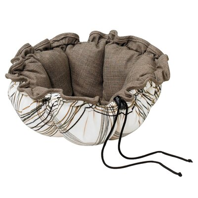 Buttercup Nest Dog Bed Size: Small (24 L x 24 W), Color: Daydream