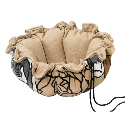 Buttercup Nest Dog Bed Size: Small (24 L x 24 W), Color: Tranquility