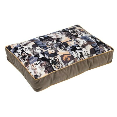 Super-Loft Rectangle Dog Pillow Size: Large (36 L x 26 W), Color: Vogue (taupe)