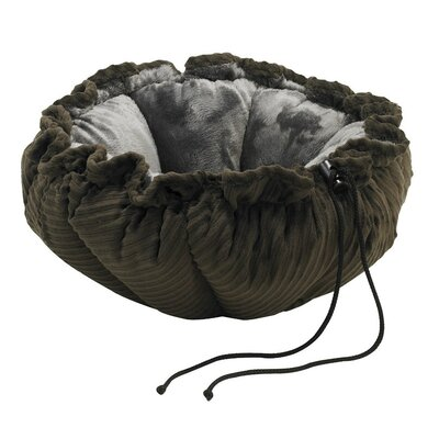 Buttercup Nest Dog Bed Size: Small (24 L x 24 W), Color: Coffee