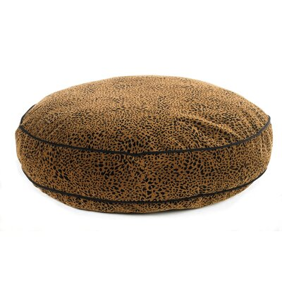 Super Soft Round Dog Pillow Size: Large (44 L x 44 W), Color: Urban Animal