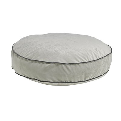 Round Dog Bed Size: Medium - 36 L x 36 W, Color: Granite