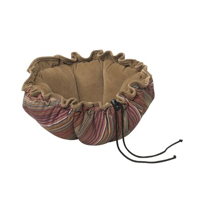 Buttercup Nest Dog Bed Size: Small (24 L x 24 W), Color: Jester
