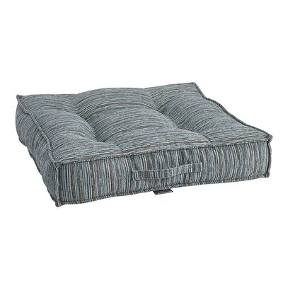 Piazza Bed Teaka Pillow Size: 28 W x 28 D x 7 H