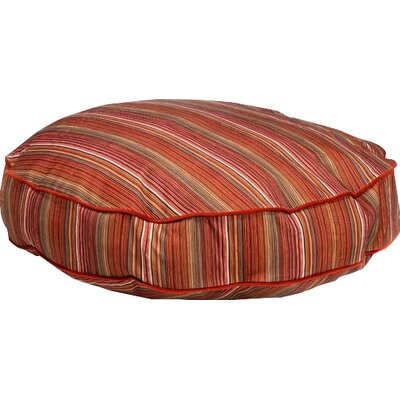 Super Soft Round Dog Pillow Size: X-Large (52 L x 52 W), Color: Jester
