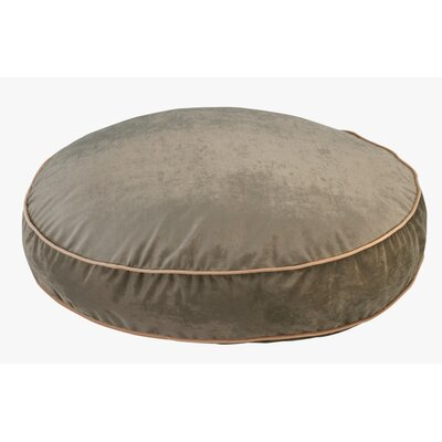Super Soft Round Dog Pillow Size: Large (44 L x 44 W), Color: Thyme