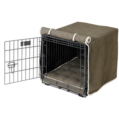 Luxury Dog Crate Cover Size: Small (19 H x 18 W x 24 D)