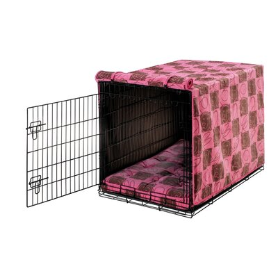 Luxury Dog Crate Cover Size: XX-Large (33 H x 30 W x 48 D)