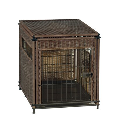 Pet Crate Size: Medium (24 H x 21 W x 30 L)