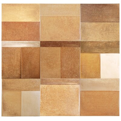 Urbano 8 x 8 Ceramic Mosaic Tile in Terracotta