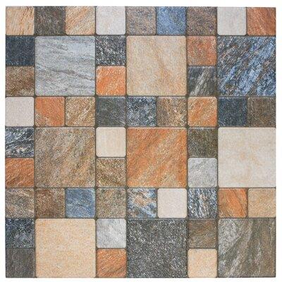 12.25 x 12.25 Porcelain Mosaic Tile in Por Rustico