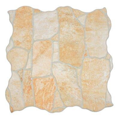 Seville 12.25 x 12.25 Porcelain Splitface Tile in Beige