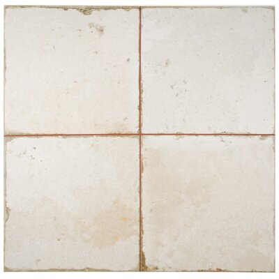 Royalty 17.75 x 17.75 Ceramic Field Tile in White