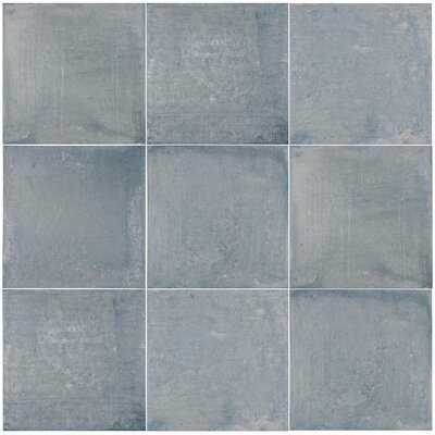 Rustilo 13 x 13 Porcelain Field Tile in Gray
