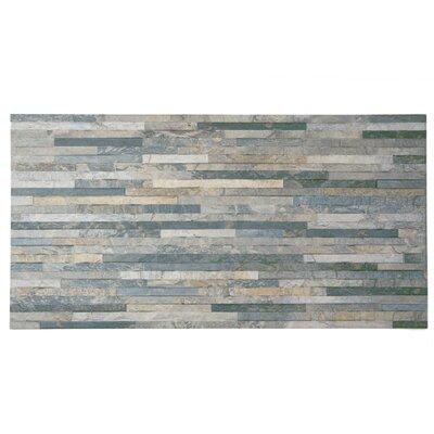 Muro Arriba 12.5 x 24.5 Porcelain Field Tile in Gray