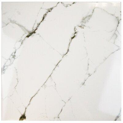 Classique 18 x 18 Ceramic Field Tile in White