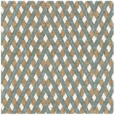 Illica 7.75 x 7.75 Ceramic Field Tile in Blue/Yellow