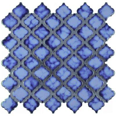 Pharsalia 2 x 2.25 Porcelain Mosaic Tile in Sapphire