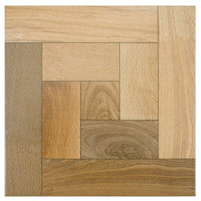 Cobi 12.5 x 12.5 Ceramic Wood Look/Field Tile in Nogal
