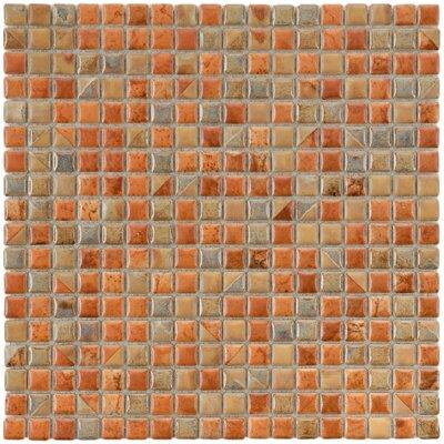 Arcadia 0.56 x 0.56 Porcelain Mosaic Tile in Tundra Beige