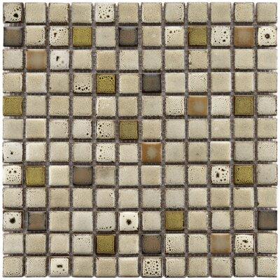 Essentia 0.91 x 0.91 Porcelain Mosaic Tile in Sierra
