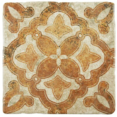 Diego 7.75 x 7.75 Ceramic Field Tile in Matte Beige/Brown