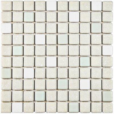 Minerva 1.1 x 1.1 Porcelain Mosaic Tile in Pistachio