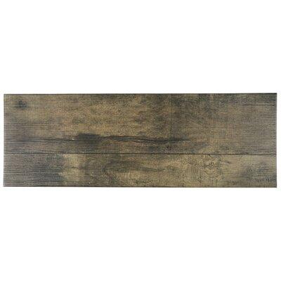 Lena 7.88 x 23.63 Ceramic Wood Tile in Beige
