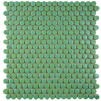 Astraea 0.62 x 0.62 Porcelain Mosaic Tile in Capri
